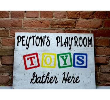 Personalized Playroom - Toys