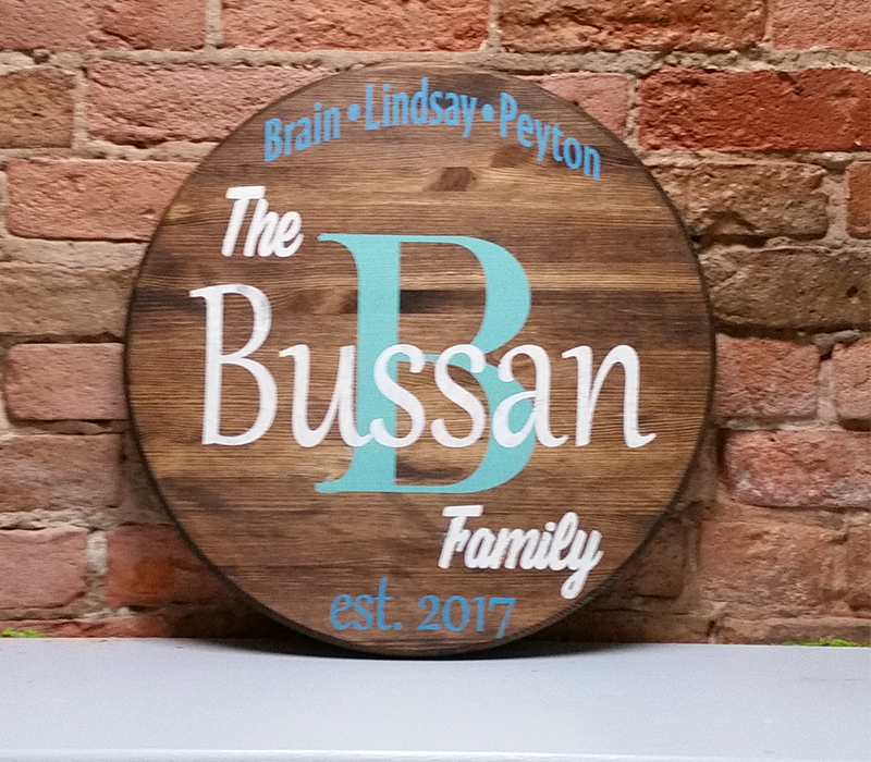 Round Family Personalized