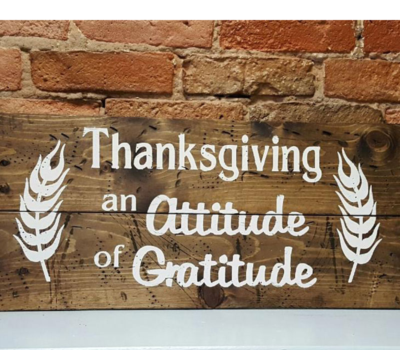 Thanksgiving - An Attitude