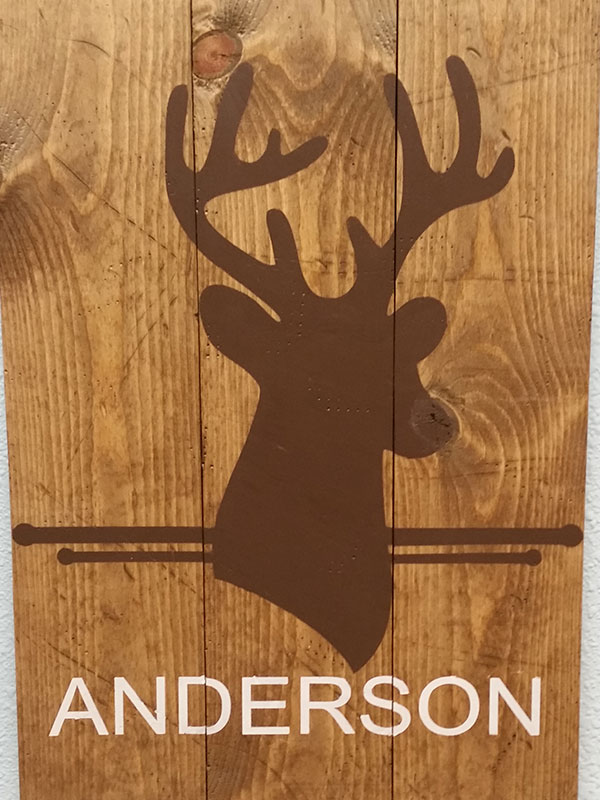 Deer Personalized