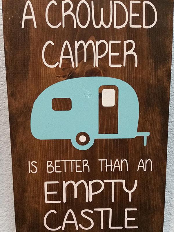 A Crowded Camper