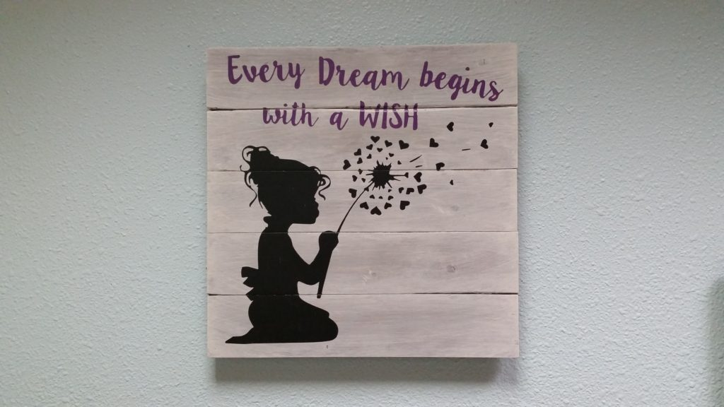 Every dream begins