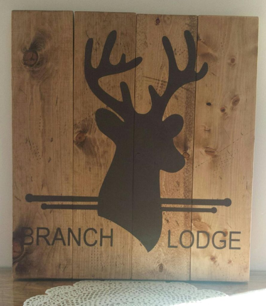 Deer Lodge Personalized