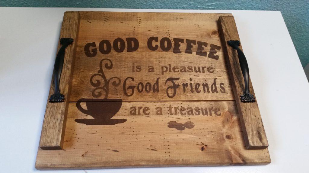 Good Coffee tray