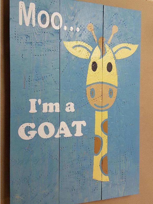 Moo...I'm a Goat