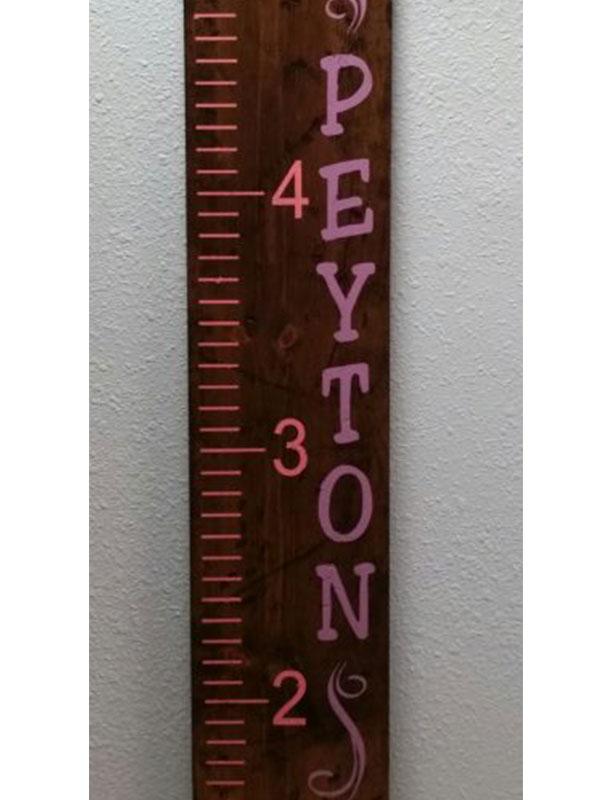 Peyton Girl Ruler