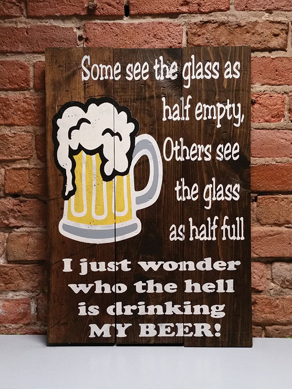 Who is Drinking My Beer