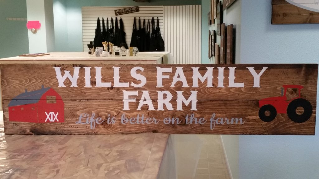 WIDE - Wills Family Farm Personalized