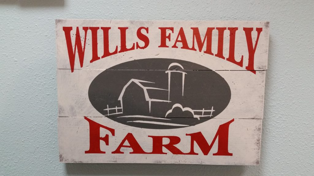 SQUARE - Wills Family Farm Personalized
