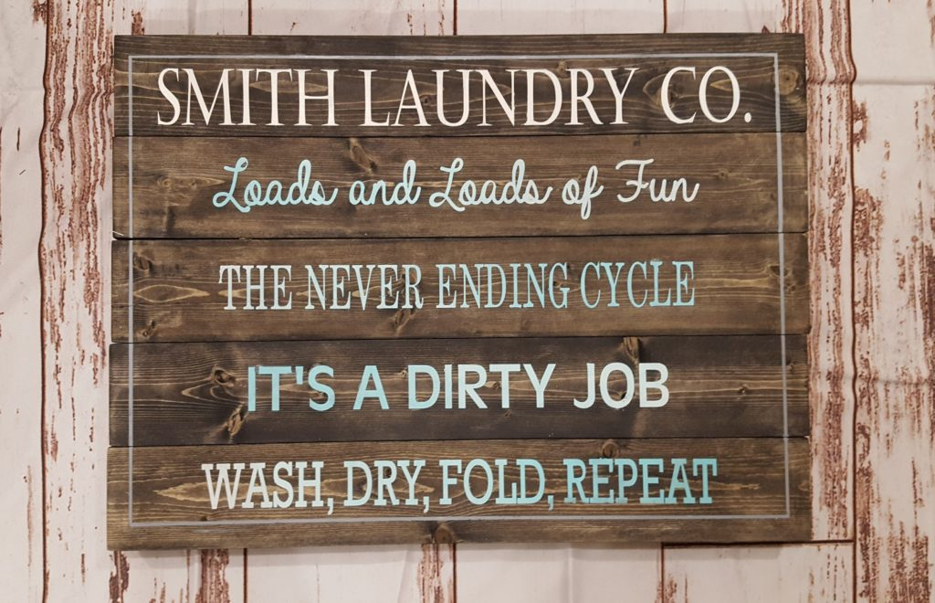 Smith Laundry Co - Personalized