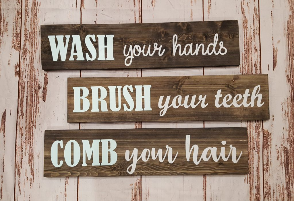 Wash, Brush, Comb