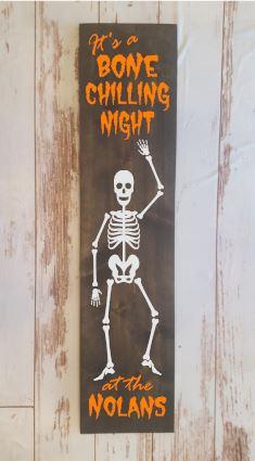 Bone Chilling Night
