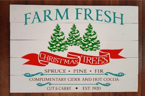 Christmas Trees 1920