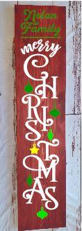 Porch Merry Christmas