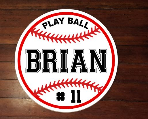Baseball Personalized