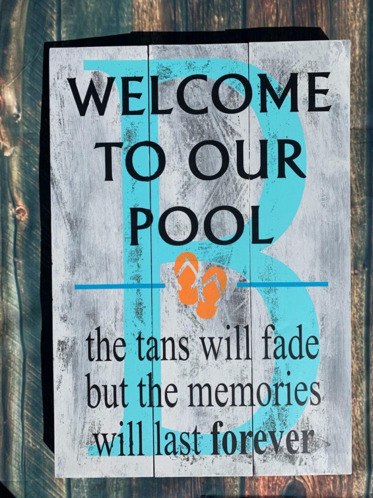 Pool Tans