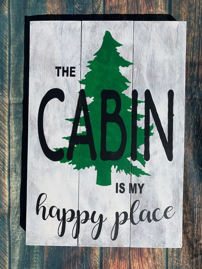 Cabin is my happy