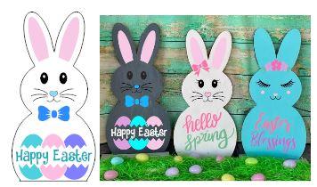 Bunny-Happy Easter