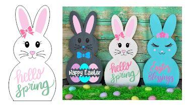 Bunny-Hello Spring