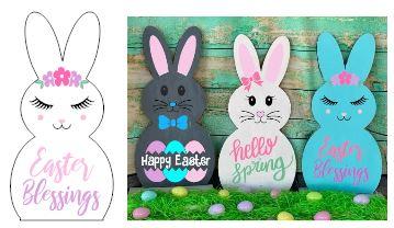 Bunny-Easter Blessings