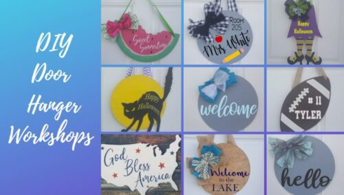DIY Door hanger workshops