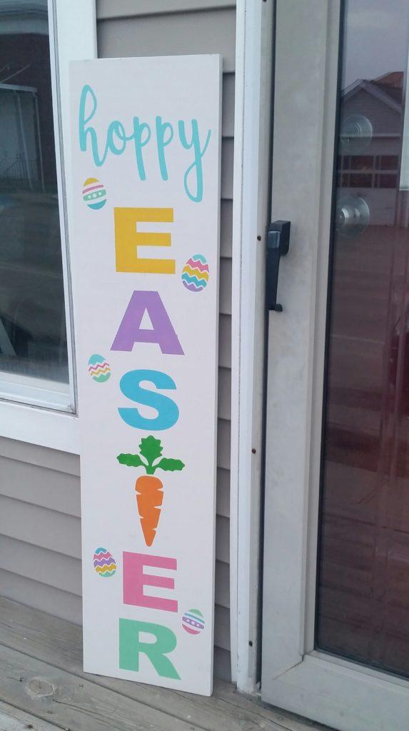 Porch - Carrot - Hoppy Easter