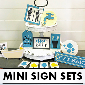 Mini Sign Sets