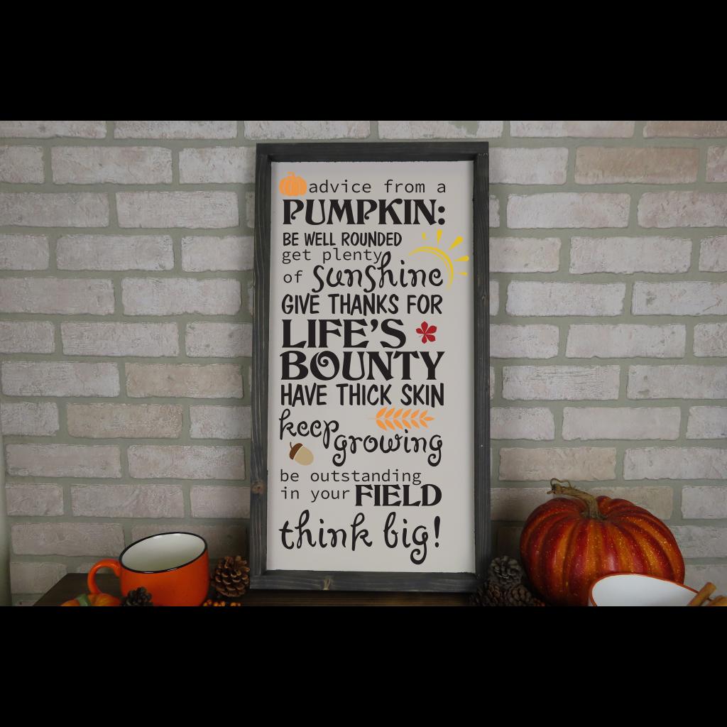 643 - Advice From A Pumpkin