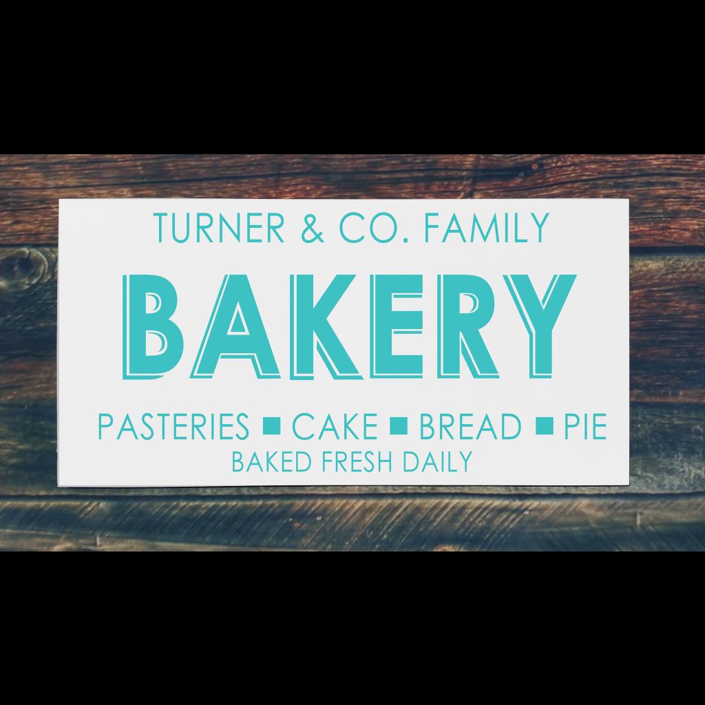 Bakery on 24x12 board