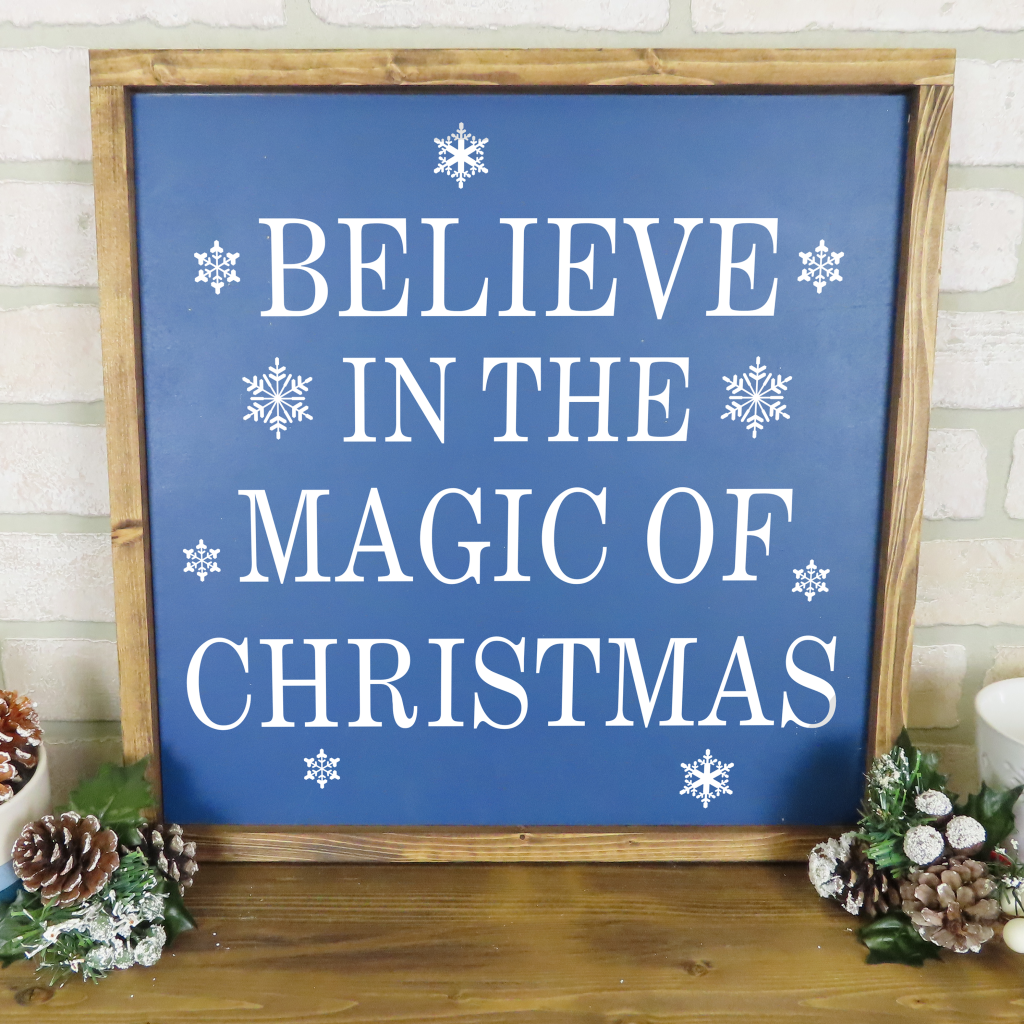 702 - Believe In The Magic Of Christmas