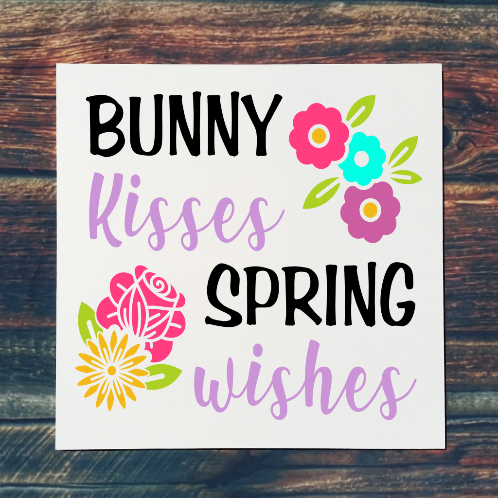 713 - Bunny Kisses Spring Wishes