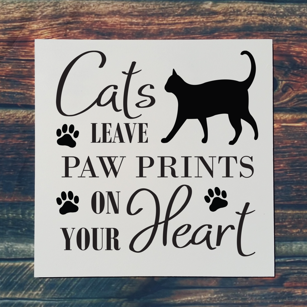 513 - Cats Leave Paw Prints