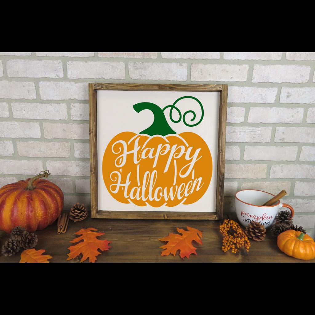 641 - Happy Halloween Pumpkin