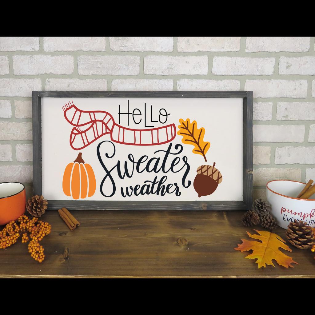 669 - Hello Sweater Weather