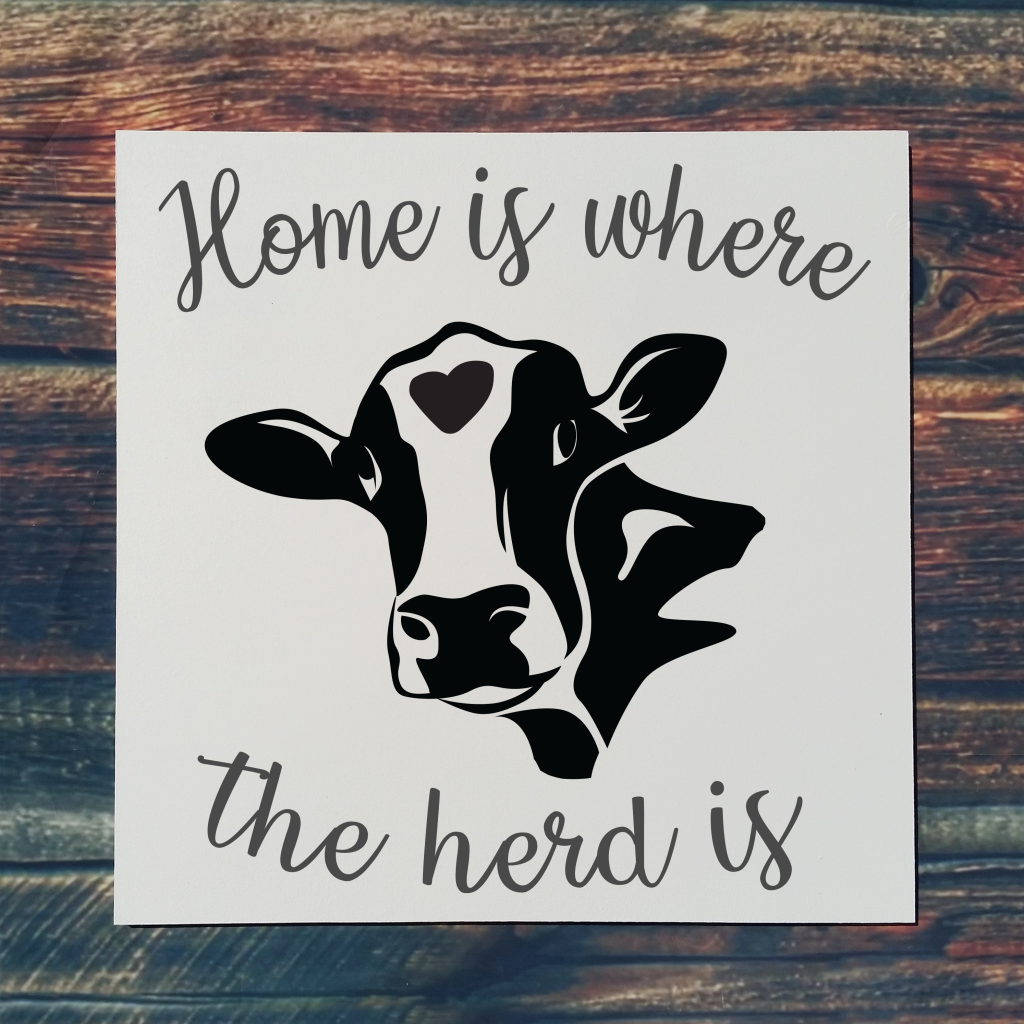 549 - Home is where the herd is