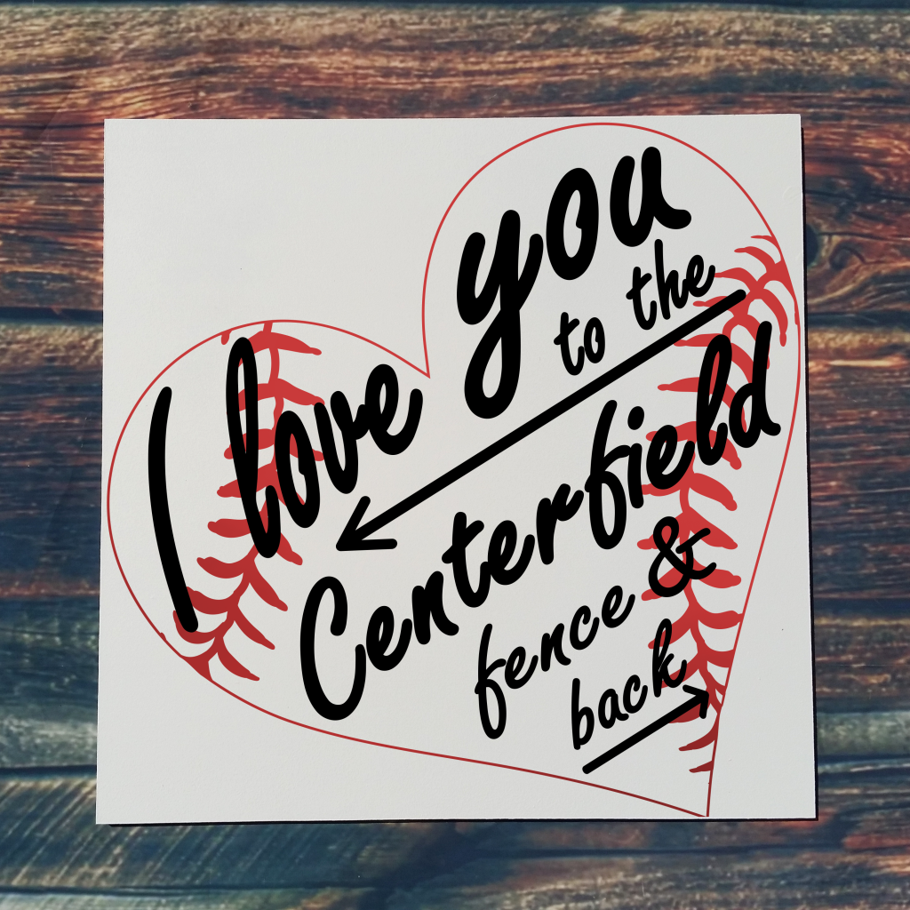 I Love You To The Center Field and Back on 16x16 board