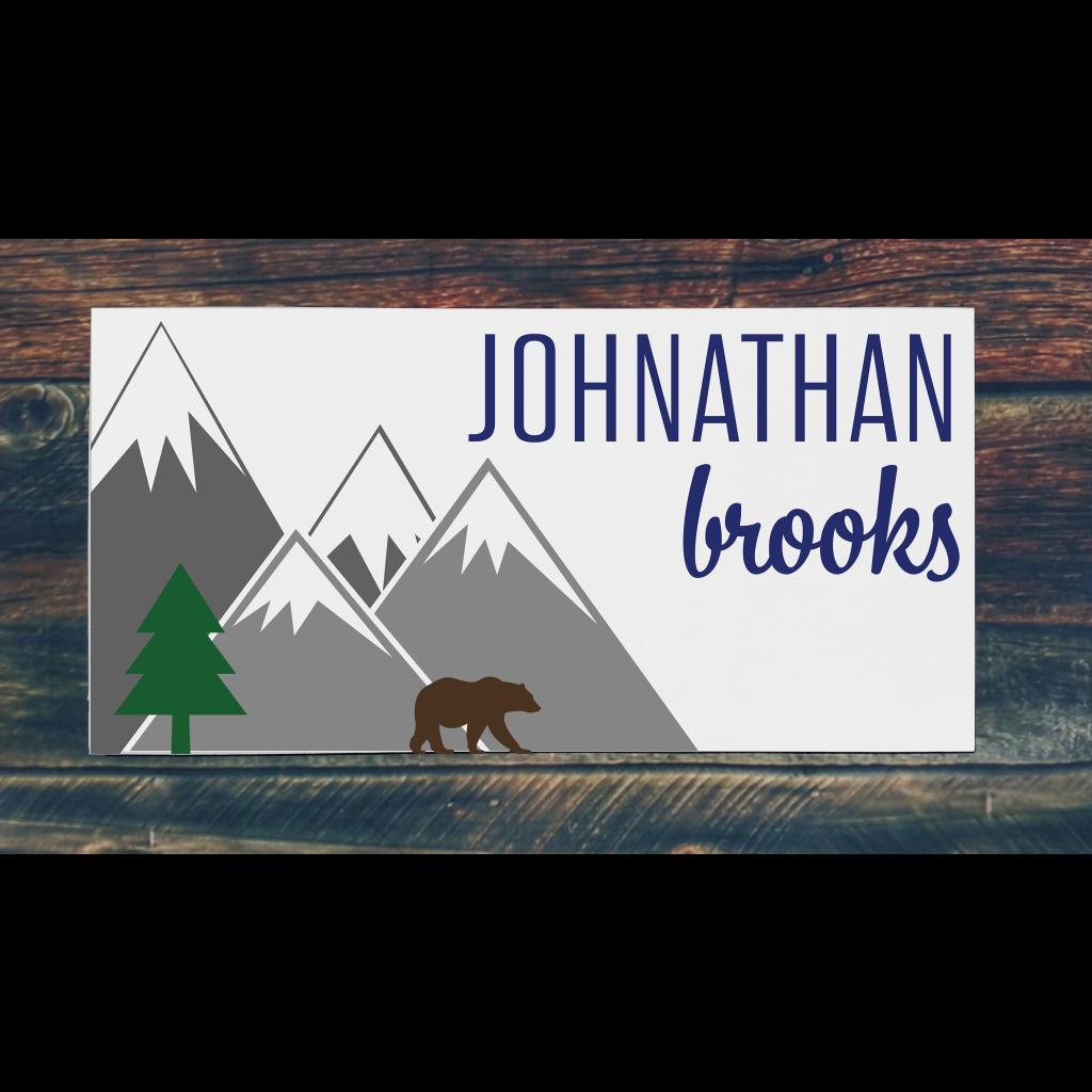 530 - Mountain Name (Personalize)