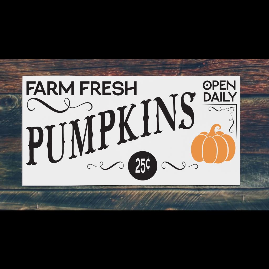 651 - Pumpkins Open Daily