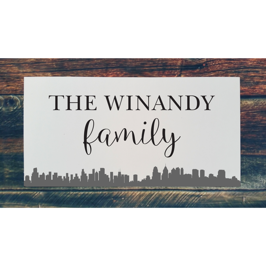 520 - Family Name City (Personalize)