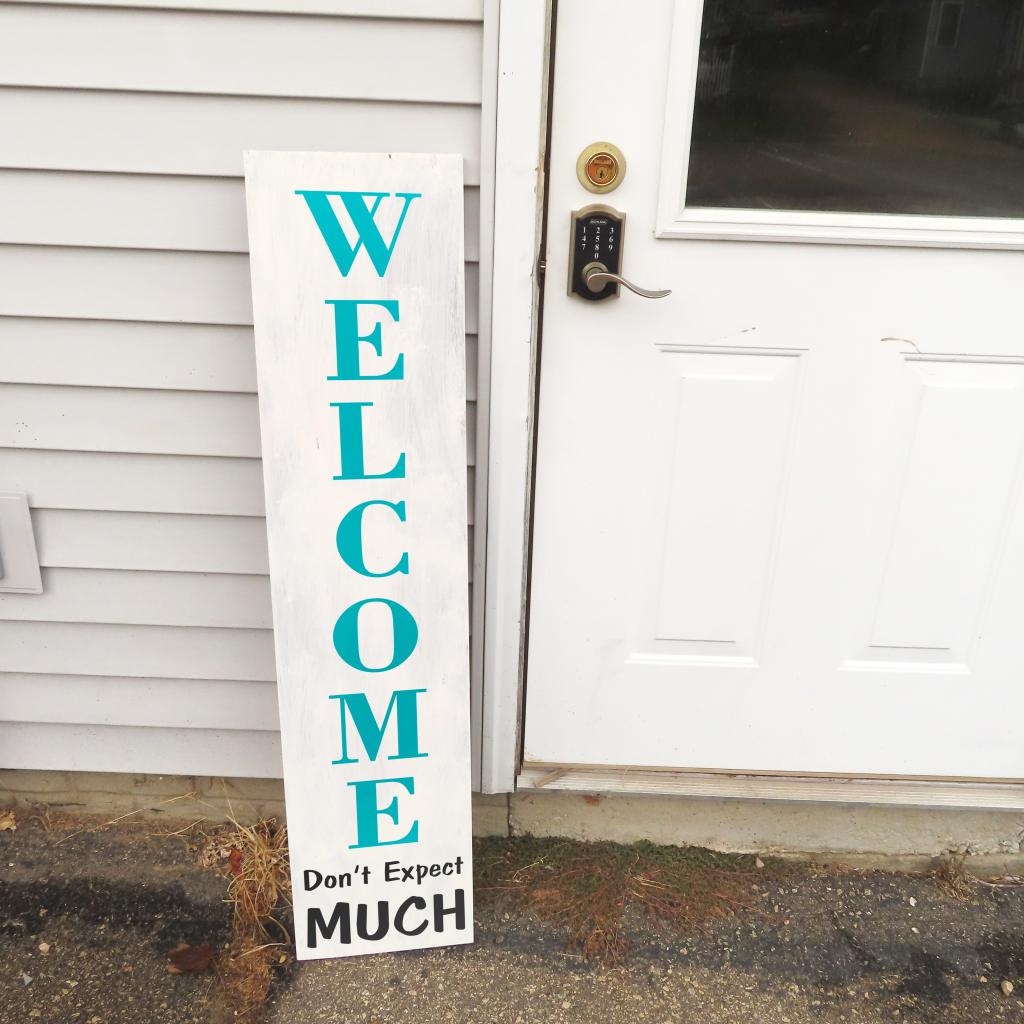 048 - Welcome Don't Expect Much